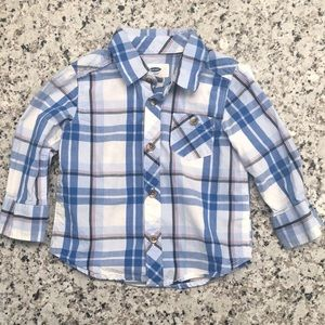 🎉 5/$15 Old Navy Button-up Long Sleeve Shirt